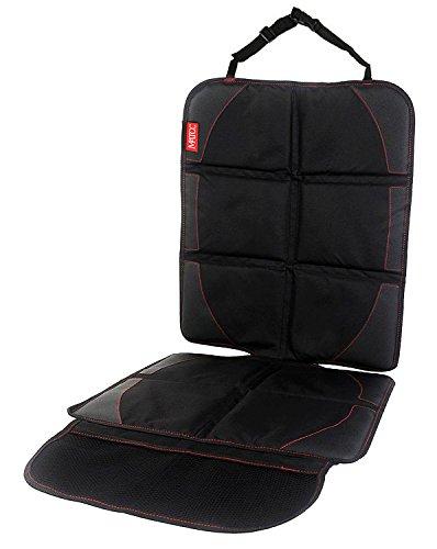 MATCC Autositzauflage Kindersitzunterlage Isofix Geeignet Universal Autositzschoner Wasserdicht...