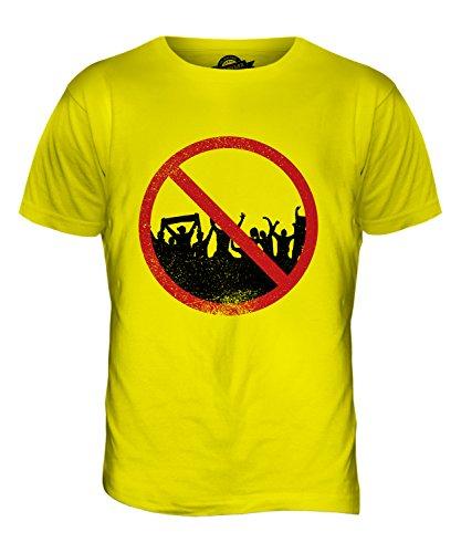 CandyMix Agoraphobie Herren T Shirt Zitronengelb