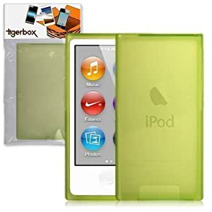 Tigerbox Hydro Gel Skin Case Cover For Apple iPod Nano 7 7th Generation - Green