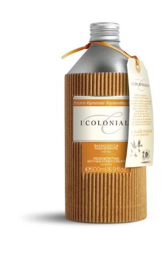 I Coloniali Bagnodoccia Rigenerante Mirra di Atkinsons, Bagnoschiuma Unisex - Flacone 500 ml.