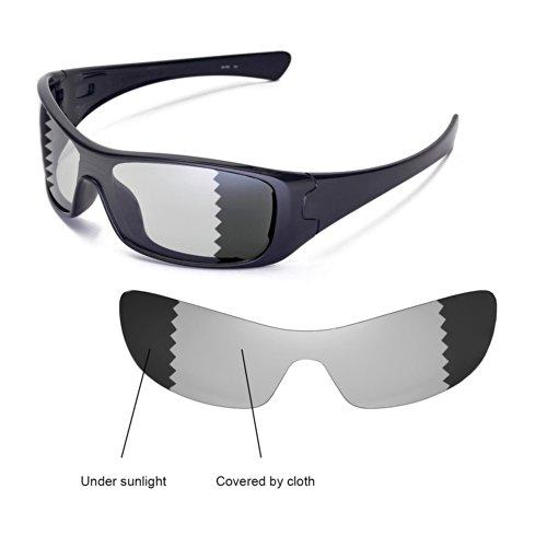 sunglasses restorer Ersatzgläser für Oakley Antix, Photocromic Grey