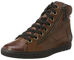 Paul Green Damen 1230401_40.5 Hohe Sneaker, Schwarz (Black), EU