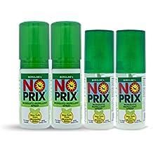 Boroline Noprix Your Personal Mosquito Repellent Spray 100 ml x 2 and 30ml x 2 pcs