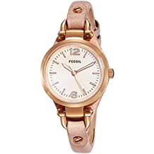 (Certified Refurbished) Fossil Georgia Analog Pink Dial Women's Watch - ES3262#CR