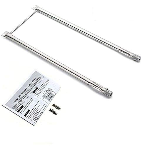 Bar.b.q.s Stainless Steel Grill Burner Flavorizer Bars Cooking Grids Replacement Parts For Spirit 500, Spirit 500LX, and Genesis Silver A gas grills (Grill Burner)