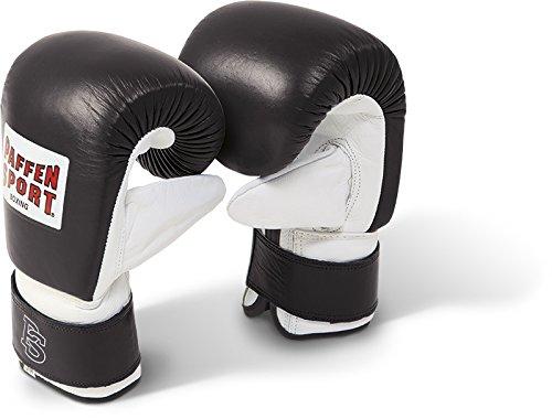 Paffen Sport PRO Boxsack-Handschuhe; schwarz/weiß; GR: M/L