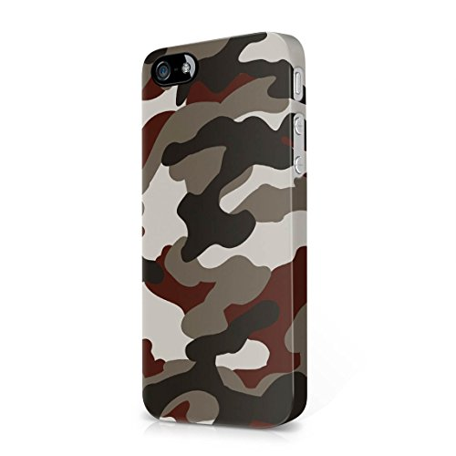 Military Army Camouflage Camo Durable Hard Plastic Snap-On Plastic Phone Case Cover For iPhone 5 / iPhone 5S / iPhone SE
