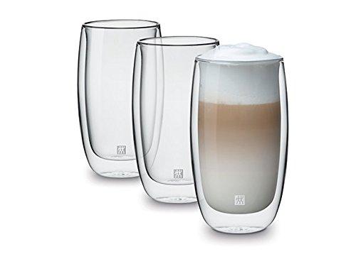 Zwilling® Sorrento Doppelwandiges Glas, Latte Macchiato 350ml, 3-er Set -