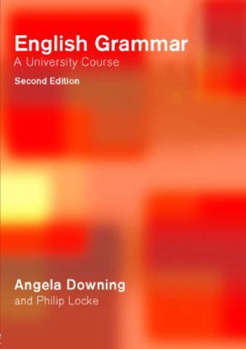 English Grammar A University Course (2nd Edition)