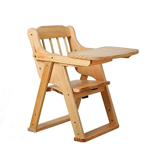 LJHA Sgabello pieghevole Sgabello per bambini in legno massello ...