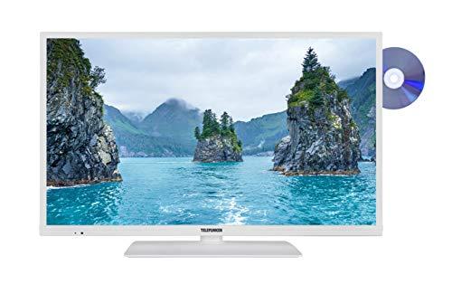 Telefunken XF32E519D-W 81 cm (32 Zoll) Fernseher (Full HD, Triple-Tuner, Smart TV, DVD-Player integriert)