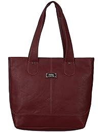 WCL Maroon Shoulder Bag For Women