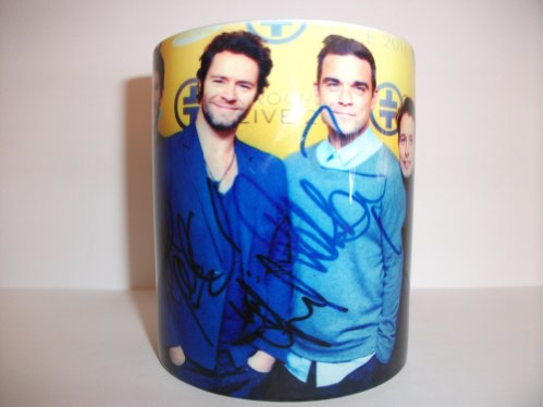 Take That All 5 Members Photo Mug Gift