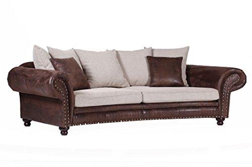 Gutmann Mega-Sofa rund Chalet 8555 Polstergruppen