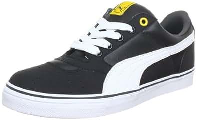 Puma Sky 2 Low Vulc 353272, Unisex-Erwachsene Sneaker, Schwarz (black-team yellow 18), EU 41 (UK 7.5) (US 8.5)