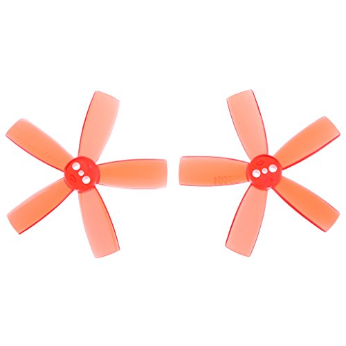 sharprepublic 1 Pair Of 1935 2 Propellers Inches 5 1103 1104 Pads Motor RC Quadcopter - Red