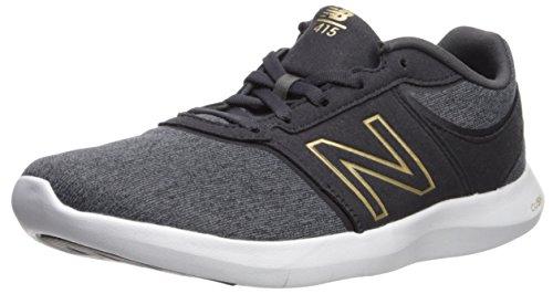 New balance wl415v1, scarpe sportive indoor donna, nero (black), 40 eu