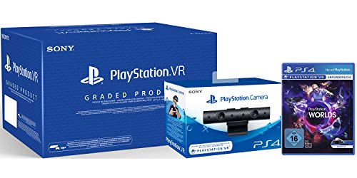 PlayStation Virtual Reality Bundle (Generalüberholt) + Kamera + VR Worlds