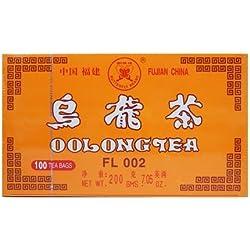 Authentic Chinesische Oolong-tee 100 Teebeutel Diät Schlankmachende Wirkung mit Qualität Geschmack