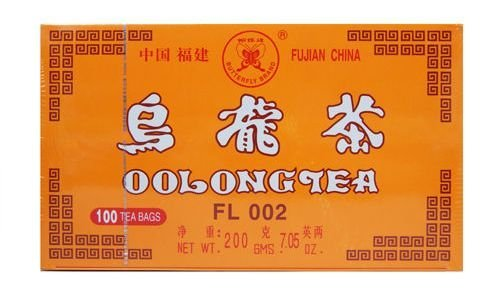 Authentic Chinese Oolong Tea 100 Teabags Diet Slimming Effect with Quality Flavor