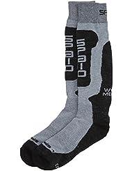 SPaIO socks chaussettes de ski thermiques pour adulte laine mérinos