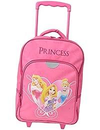 Sac à dos scolaire à roulettes Princess pour fille
