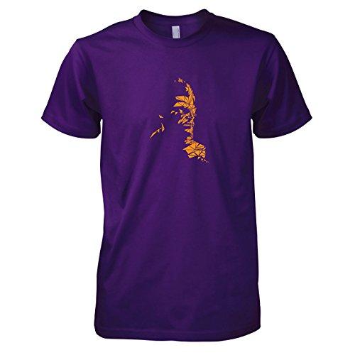 TEXLAB - Mosaic Snake - Herren T-Shirt, Größe XXL, (Kostüm Venom Cosplay)