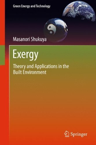 Exergy: Theory and Applications in the Built Environment (Green Energy and Technology) by Masanori Shukuya (2012-11-06)