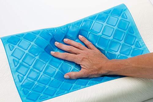 BEST DIRECT Cool Pillow Visto en TV Almohada Memory Foam Espuma viscoelástica con Gel...