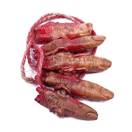 Halloween Requisiten Körperteile - Amosfun 2 stücke gefälschte blutige halloween
