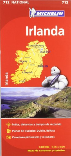 Irlanda. Mapa National 712 por unknown