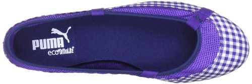 Puma Elsie Gingham Wn's Ballerines Liberty Blue purple