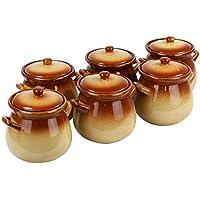 Keramiktopf 6er Set - Stoliza, 0,65 Liter