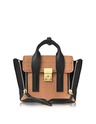 31-phillip-lim-womens-ae170226nbsmapleblk-brown-black-leather-handbag