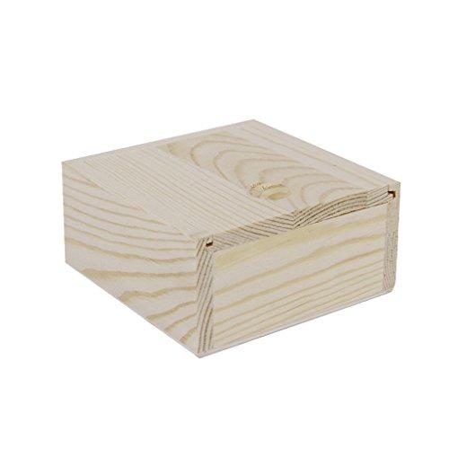 Descripción:  delicada caja de madera  Perfecto para decorar con pinturas, papeles decoupage, etc  joyas forstorage Ideal, adornos, jabón hecho a mano , botellas de aceite de esencia etc  es un gran regalo para enviar a su amigo, colega, relativa Tam...