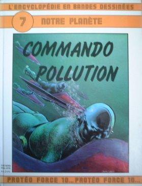Commando Pollution (L'Encyclopédie en bandes dessinées) par Jean Gérard Imbar
