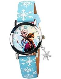 Joy Toy Reloj Analógico para Niñas de Cuarzo con Correa en Cuero 78021