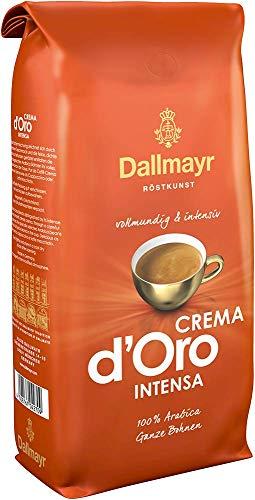 Dallmayr Kaffee Crema d\'oro Intensa Kaffeebohnen, 1er Pack (1 x 1000g Beutel)