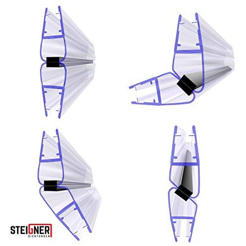 steigner magnético ducha Juego de juntas UKM04, 201cm, 90grados, 2unidades, 6/7/8mm, 52519680