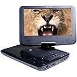 "Nevir NVR-2780 - DVD portátil (9"", LCD, USB, lector SD), color negro"