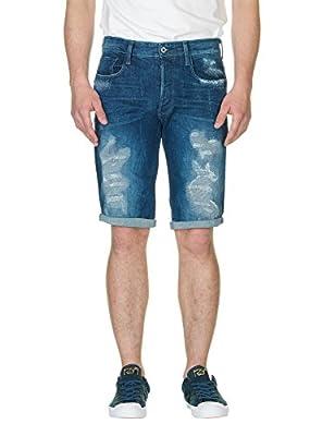 G-STAR RAW Men's 3301 Jeans, Black (Dark Aged)