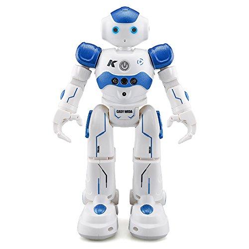 Goolsky JJR / C R2 Cady WINI Intelligente Programmierung Gestensteuerung Roboter RC Spielzeug Geschenk für Kinder Kinder Unterhaltung (R2 Blau)