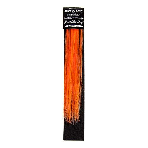 Manic Panic Electric Lava Extension Pour Cheveux Mèche Glamour Flashy 20cm (Orange)