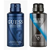 Guess Seductive Home Blue Night Deodorant Spray - For Men (300 Ml, Pack Of 2)