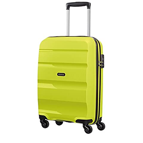 American Tourister Bon Air Spinner Reise Koffer Hartschalen Trolley Rollen Case, Bon Air Spinner, Farbe / Motiv Lime, Größe