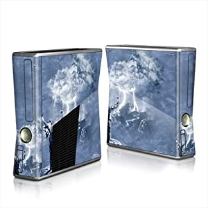MyGift Wolf Storm Design Protector Skin Decal Sticker for Xbox 360 S Game Console Full Body