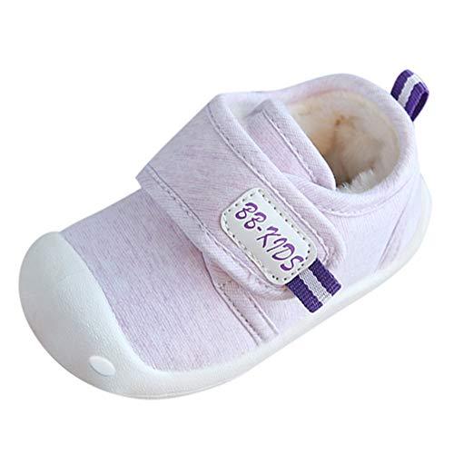 ODJOY-FAN-Bambino Scarpe da di Cotone più Velluto Antiscivolo Interno  Tenere Caldo Scarpe 583464e4735