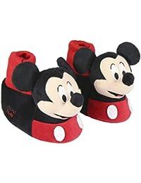 Cerdá 3D Mickey, Zapatillas de Estar por casa para Niños