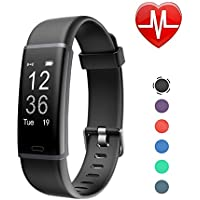 LETSCOM Fitness Tracker with Heart Rate Monitor, Activity Tracker Watch with Step Counter, Pedometer, Calorie Counter Watch, Smart Wristband for Kids Women and Men