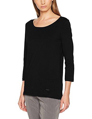 Daniel Hechter Damen T-Shirt, Mehrfarbig (Schwarz/Weiß 990), 34 Preisvergleich